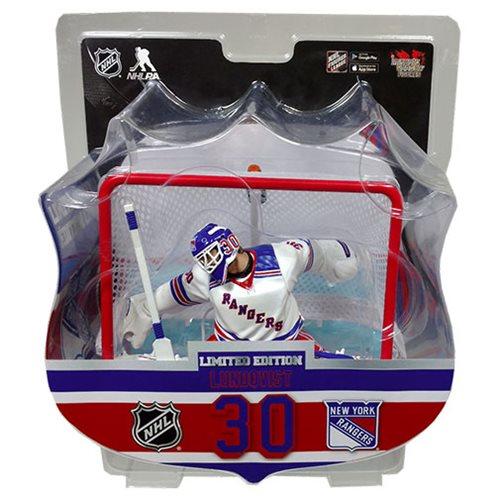 NHL New York Rangers Henrik Lundqvist Rangers 6-Inch Action Figure with Net
