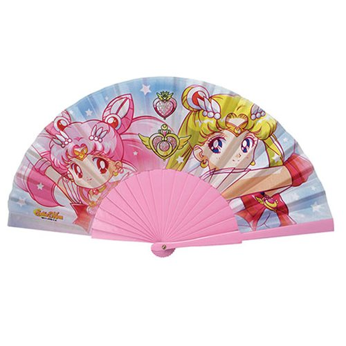 Sailor Moon and Chibi Moon Hand Fan