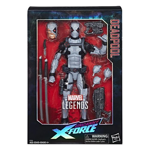 Marvel Legends Series 12-inch X-Force Deadpool Action Figure - Exclusive