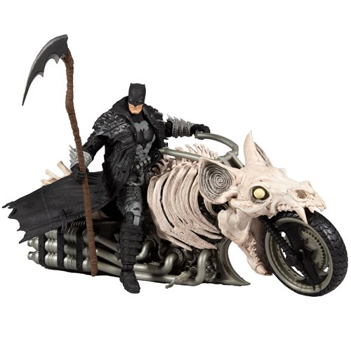 DC Multiverse Death Metal Batcylce Vehicle