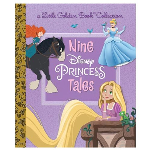 Disney Princesses Nine Disney Princess Tales Little Golden Book