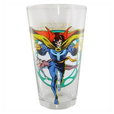 Doctor Strange Glass Toon Tumbler Pint Glass