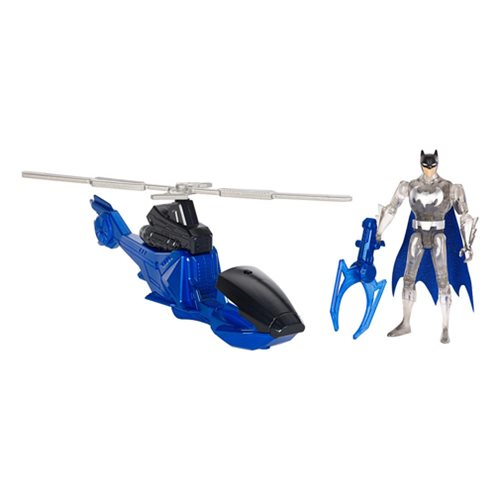 Justice League Action Batcopter and Batman Action Figure