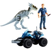 Jurassic World Deluxe Story Pack Owen and Off-Road Tracker