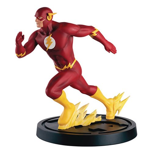 DC Superhero Best Of Special Mega Flash Statue with Collector Magazine #9