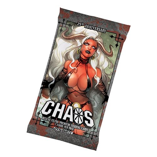 Chaos Deluxe Ultra Premium Trading Card Individual Foil Pack