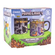 Minecraft Heat-Change 18 1/2 oz. Mug