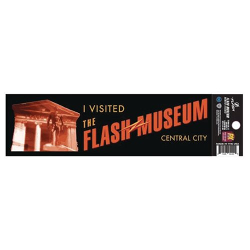 Flash TV Flash Museum Decal - Previews Exclusive