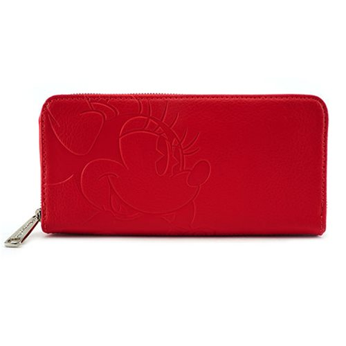 Minnie Mouse Debossed Wallet