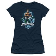 Aquaman Water Powers Juniors T-Shirt