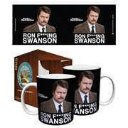 Parks and Recreation Ron F. Swanson 11 oz. Mug