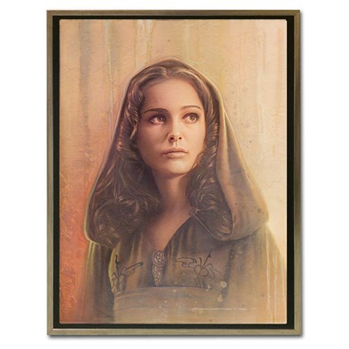 Star Wars Timeless Series Padme Amidala by Jerry Vanderstelt Framed Canvas Giclee Art Print
