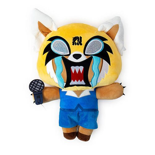Aggretsuko Karaoke HugMe Plush