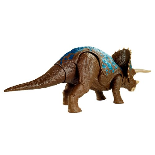 Jurassic World Sound Strike Camp Cretaceous Triceratops Figure