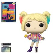 Birds of Prey Harley Quinn Caution Tape Pop! Vinyl Figure with Collectible Card - Entertainment Earth Exclusive