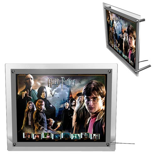 Harry Potter Movie Series Finale Acrylic LightCell Film Cell