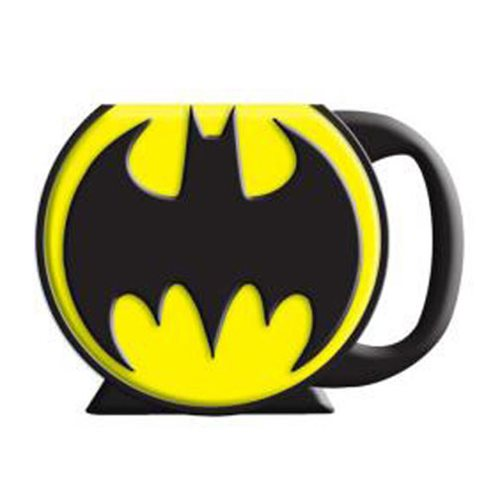 Batman Logo 3D Mug