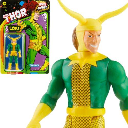 Marvel Legends Retro Loki Action Figure