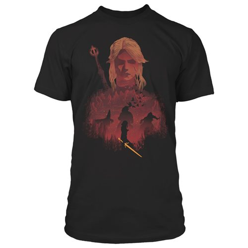 The Witcher 3 Ciri and Crones Premium T-Shirt
