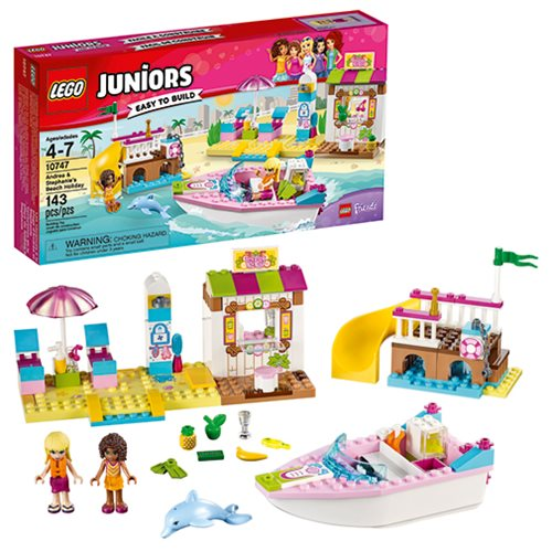 LEGO Juniors LEGO Friends 10747 Andrea and Stephanie's Beach Holiday