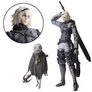 Nier Replicant Nier and Emil Bring Arts Action Figure Set