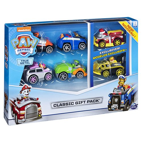 PAW Patrol 1:55 Scale Die-Cast Vehicles Set 6 pack, Not Mint