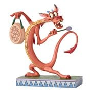 Disney Traditions Mulan Mushu Personality Pose Look Alive Statue