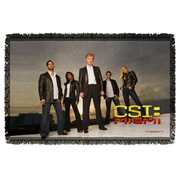 CSI: Miami Cast Woven Tapestry Throw Blanket