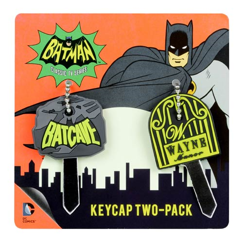 Batman Batcave and Wayne Manor Key Cover 2-Pack
