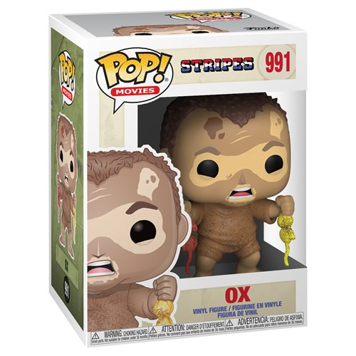 Stripes Ox Mudwrestling Pop! Vinyl Figure