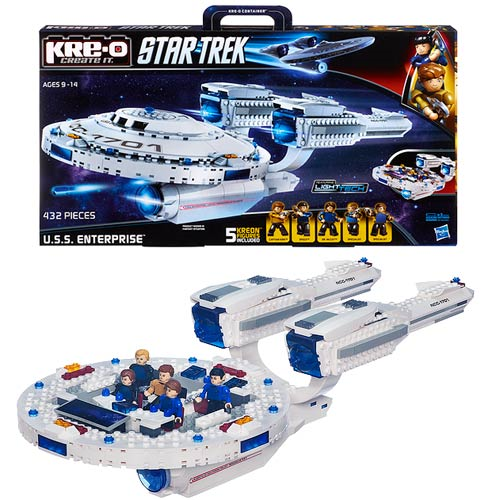 Star Trek Kre-O USS Enterprise Vehicle Construction Set