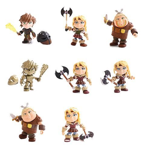 How to Train Your Dragon Heroes and Humans Wave 2 Random Action Vinyl Figure