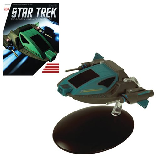 Star Trek Starships Alice Die-Cast Metal Vehicle with Collector Magazine #125