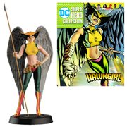 DC Superhero Hawkgirl Best Of Figure with Collector Magazine #33