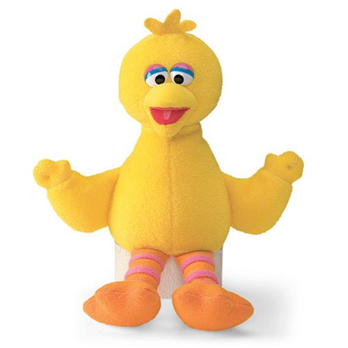 Sesame Street Big Bird Beanbag 6 3/4-Inch Plush