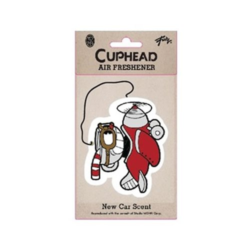 Cuphead Airplane Air Freshener