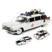 Ghostbuster 1959 Cadillac Ecto-1 1:18 Scale Die-Cast Metal Vehicle
