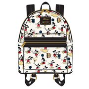 Mickey Mouse Poses Print Mini Backpack