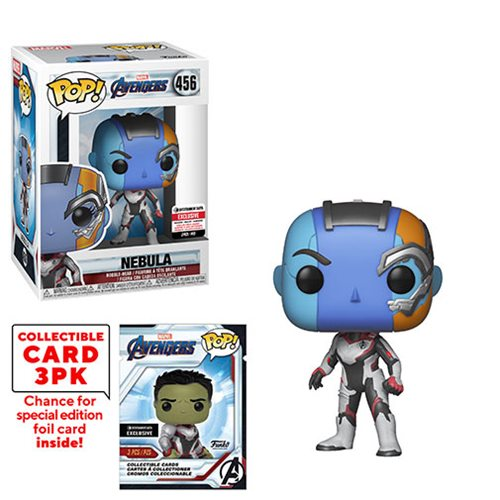 Avengers: Endgame Nebula Pop! Vinyl Figure with Collector Cards - Entertainment Earth Exclusive