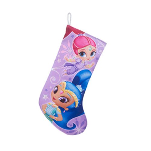Shimmer and Shine 19-Inch Glitter Stocking