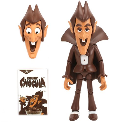 General Mills Count Chocula 6-Inch Scale Action Figure