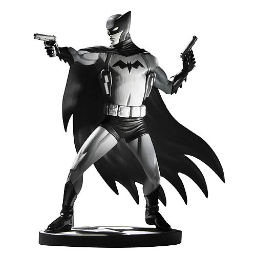 Batman Black and White Cliff Chiang Statue