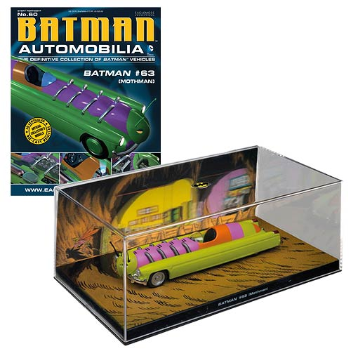 Batman Detective Comics #63 Mothman Die-Cast Vehicle with Collector Magazine