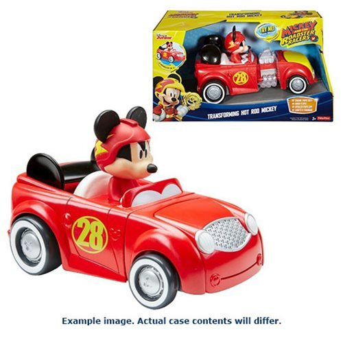 Mickey and the Roadster Pullback Vehicle Case