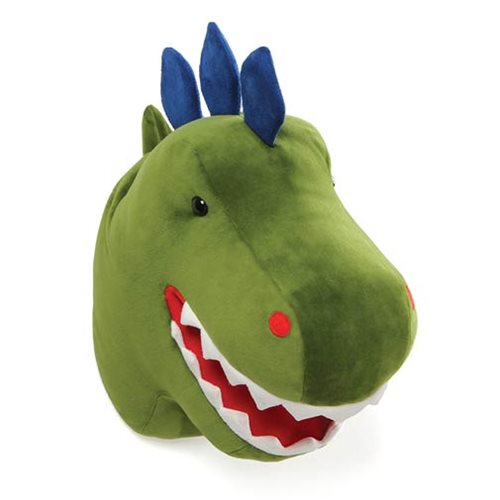 Chomper Dinosaur Head Plush