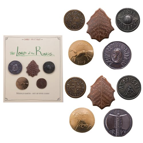The Lord of the Rings Middle-earth Coin Set #1