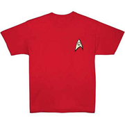Star Trek Classic Engineering Uniform T-Shirt