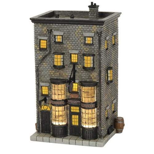 Harry Potter Village Ollivanders Wand Shop Statue