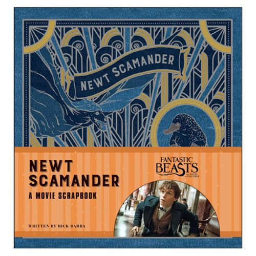 Fantastic Beasts and Where to Find Them: Newt Scamander A Movie Scrapbook Hardcover Book