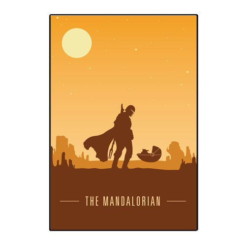 Star Wars: The Mandalorian Silo Scene Wood Wall Art